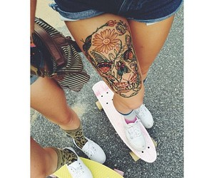 beautiful, summer, and tattoo image