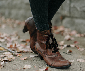 shoes, fashion, and autumn image