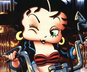 bad, green, and betty boop image