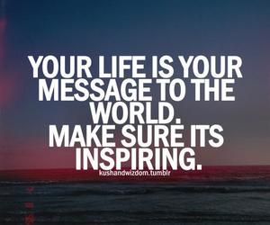 quote, life, and message image