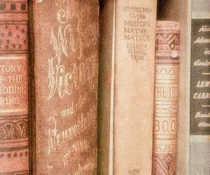 books and pink image