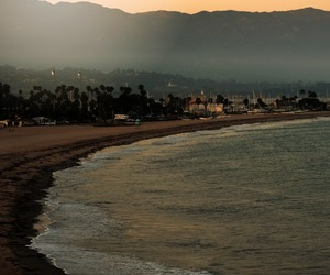 beach, california, and hipster image
