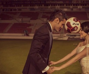 couples, soccer, and married image