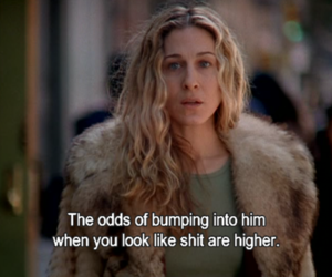 Carrie Bradshaw, look, and him image