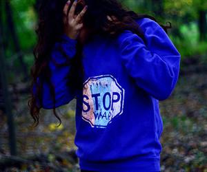 girl, stop, and fashion image