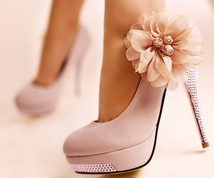 beautiful, heels, and high heels image