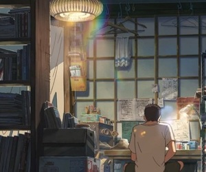 anime and the garden of words image