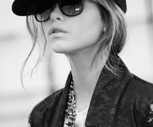black and white, fashion, and pretty image