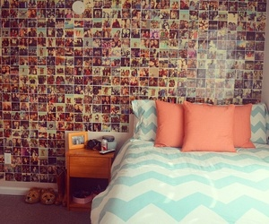 room, photo, and bed image