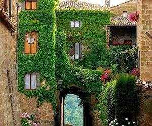 italy, green, and house image