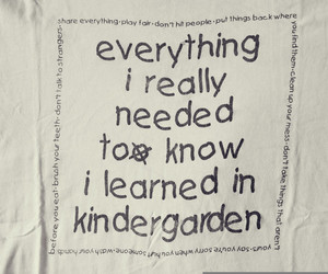 kindergarden and text image