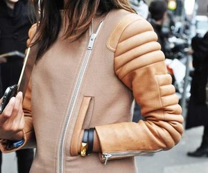 hair, jacket, and accessoire image
