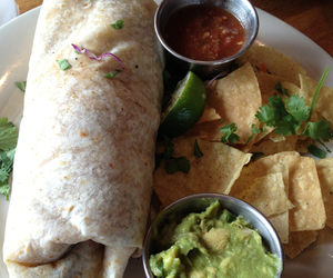 food, burrito, and yummy image