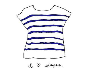 drawing, painting, and stripes image