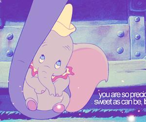 disney, sad song, and dumbo image