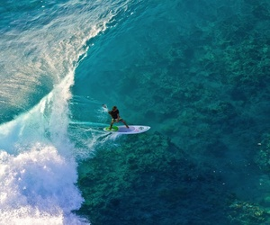 ocean, surf, and surfing image
