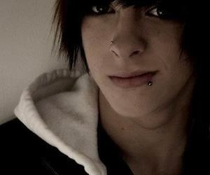 emo, boy, and cute image