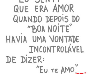 amor, quote, and eu te amo image
