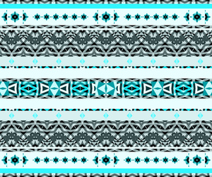 aztec, blue, and pattern image