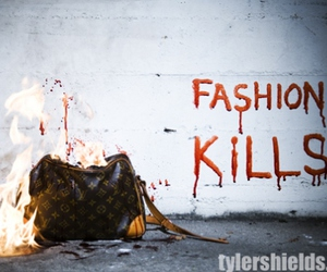 amazing, blood, and Louis Vuitton image