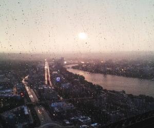 :), sunset, and urban image
