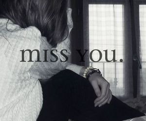 girl and miss you image
