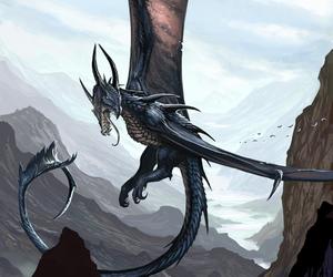 dragon and mythical image