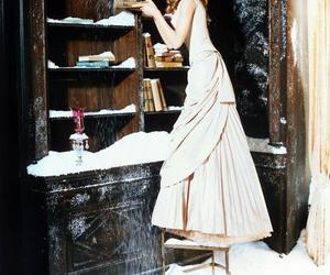 fairytale, snow, and Natalia Vodianova image
