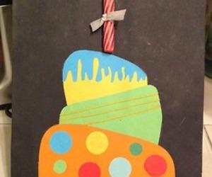 birthday, birthday cake, and birthday card image