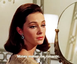 funny, money, and romantic image