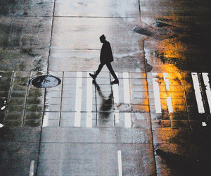 alone, street, and photography image