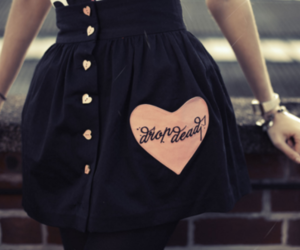 drop dead, dress, and skirt image