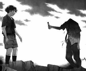 anime, manga, and mirai nikki image