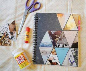 diy, notebook, and book image