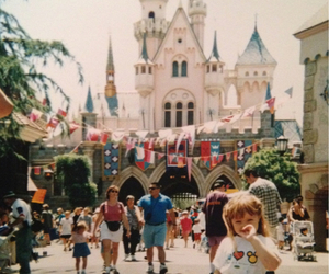 disney, old, and little girl image