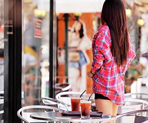 brunette, skinny, and fashion image