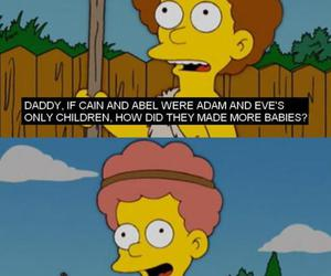 text and the simpsons image
