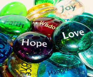 hope, joy, and love image