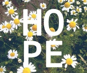 hope and flowers image