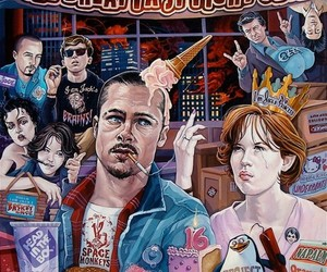 fight club, The Breakfast Club, and illustration image