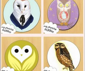 bird, owl, and owls image