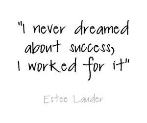 quote, success, and Dream image