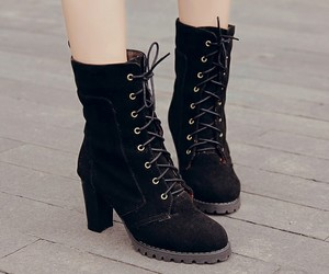 boots, cute shoes, and fashion shoes image