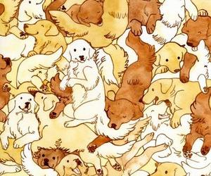 dog, dogs, and draw image