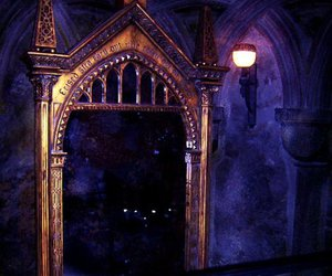 harry potter, hogwarts, and mirror of erised image