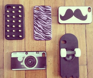 cases, girl, and iphone cases image
