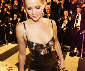 Jennifer Lawrence, oscar, and dress image