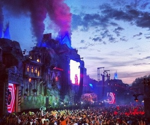 Tomorrowland, party, and festival image