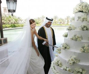 cake, ceremony, and huge image