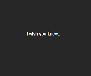 i miss you, I WISH, and quote image